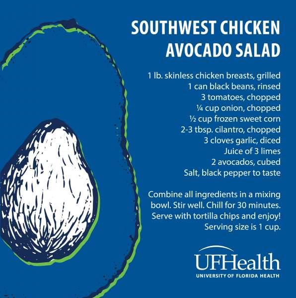 southwest-chicken-avocado-salad-recipe